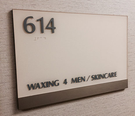 We are on the sixth floor in Suite 614.