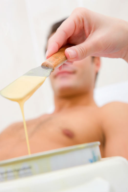 waxing for men