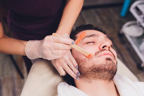 men's waxing salon
